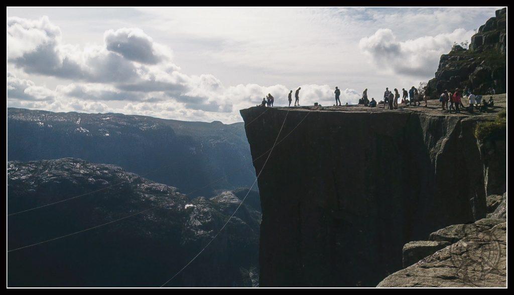 Sólo escasos metros nos separan de nuestro destino