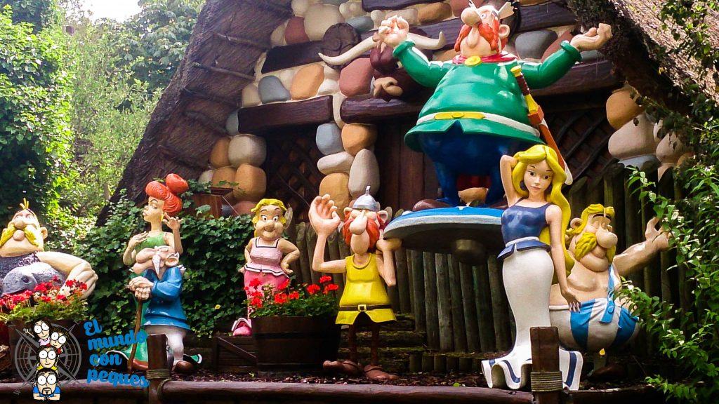 La aldea gala de Asterix