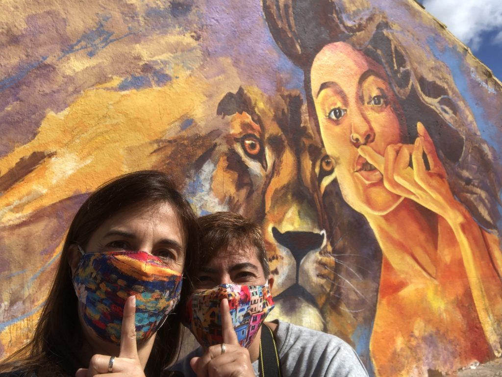 Ruta de los murales de Villangomez