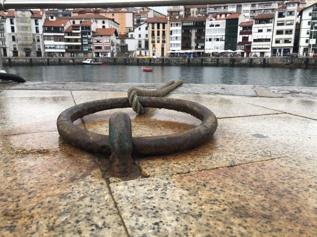 Vista desde el puerto de Lekeitio