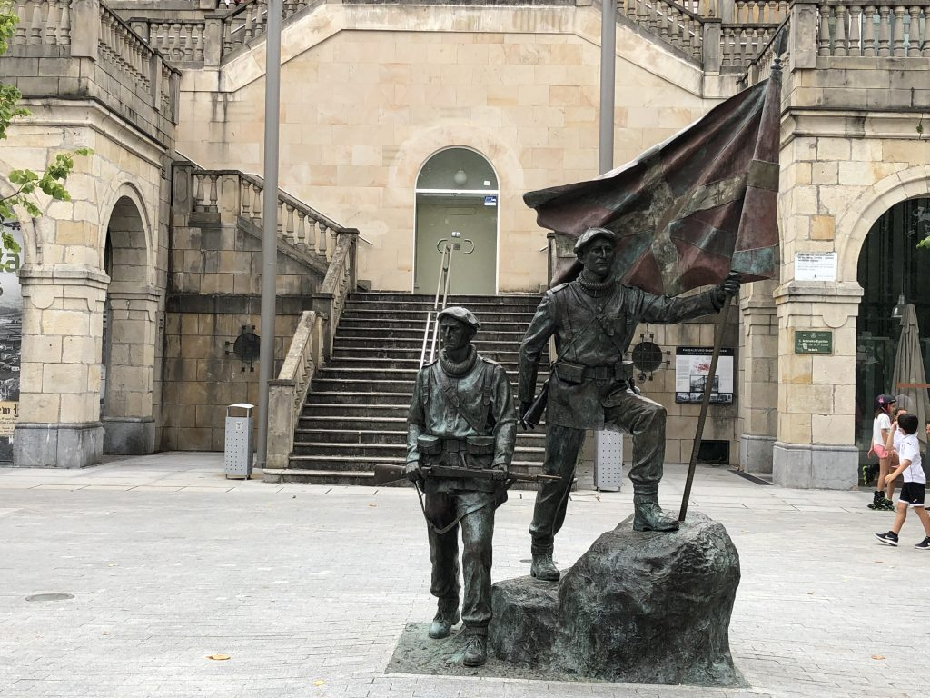 Plaza de la Unión. Gernika