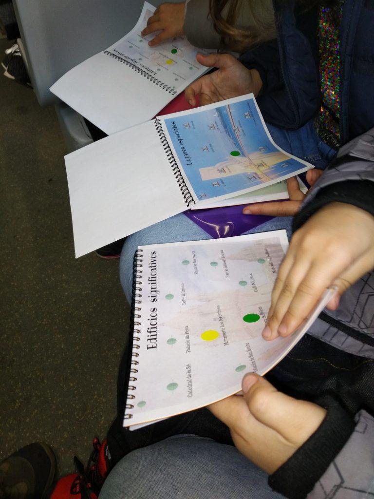 Consiguiendo categorías en el pasaporte lúdico