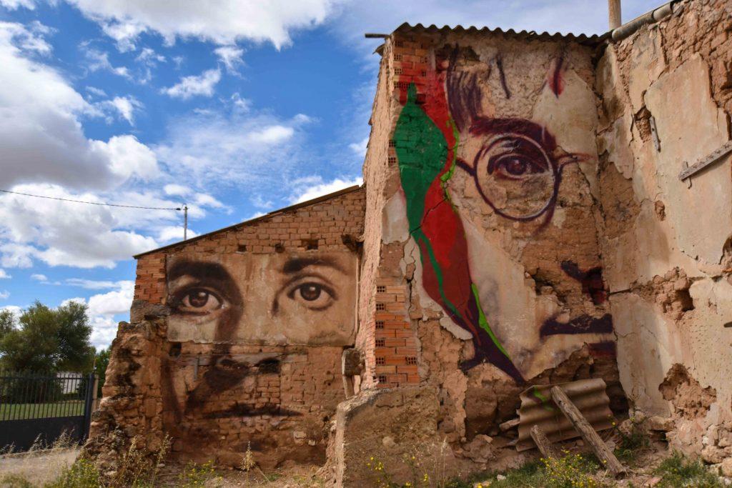 Murales de Villangómez