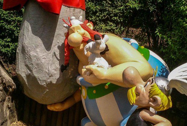 Asterix y Obelix en el parque Asterix