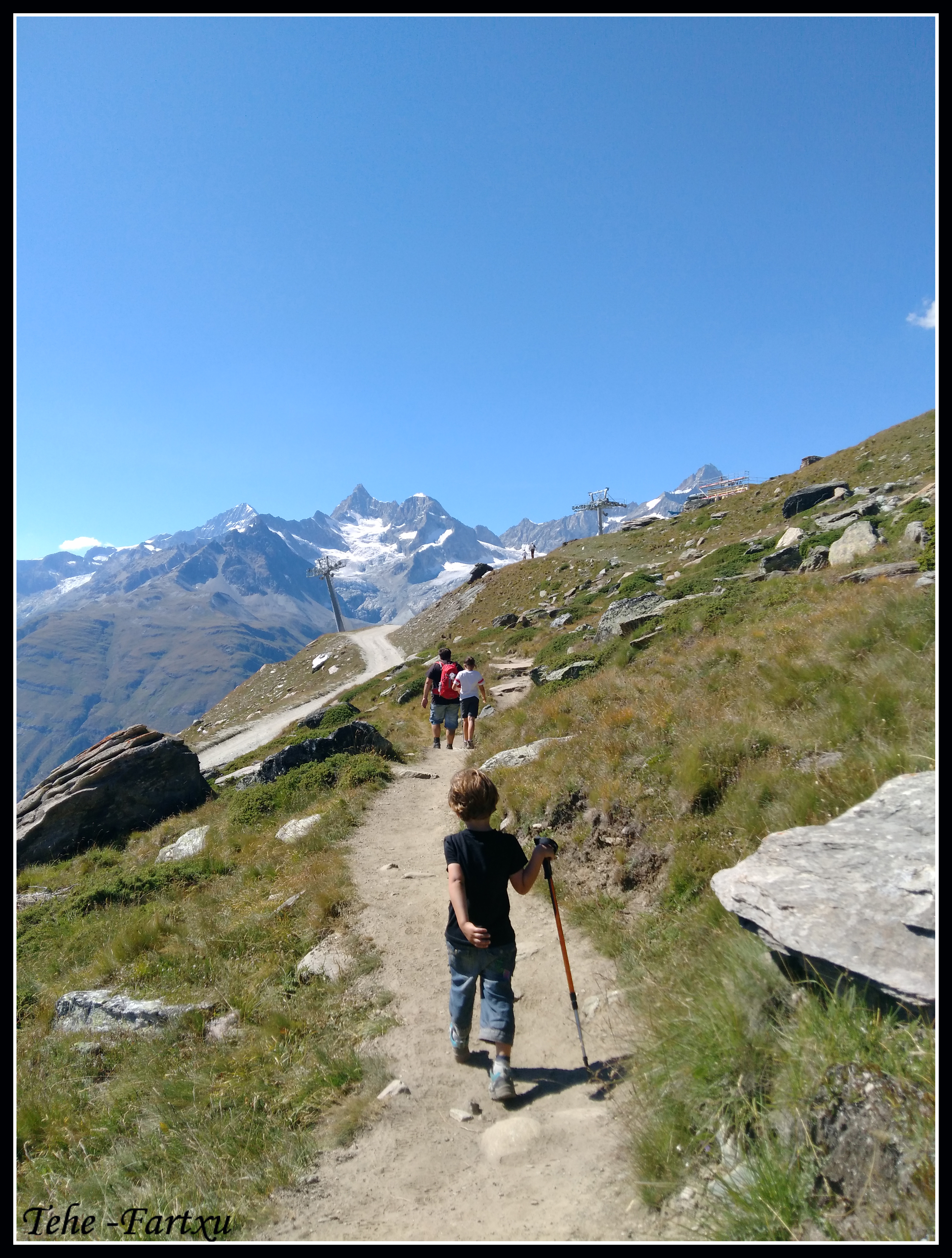Descenso a Matterhorn