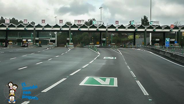 Vía verde, exclusiva para ciudadanos de portugal y via-t