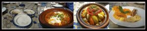 Comida variada en hotel Restaurant Timzzillite