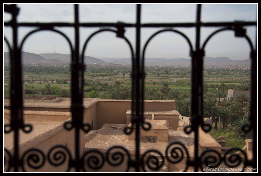 Un oasis inmenso al otro lado de la Kasbah