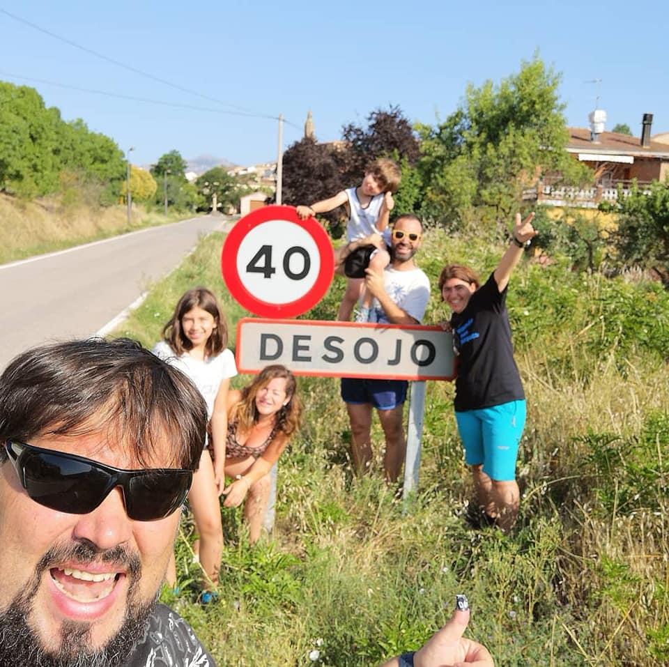 Vanwoow y El munco con peques en Desojo