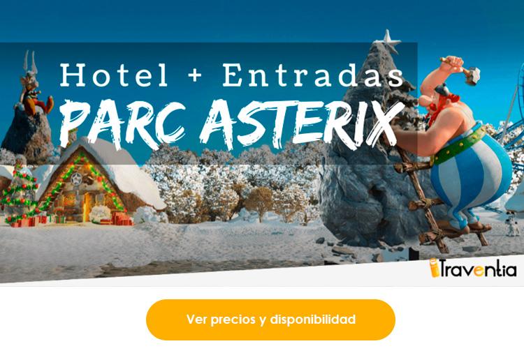 Entradas y hotel parque asterix. traventia.es