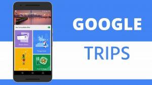 google tryps aplicaciones viajeras
