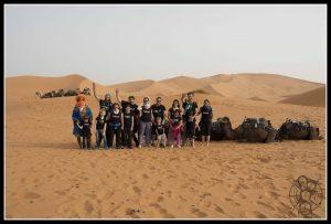 Una noche en el desierto de Merzouga