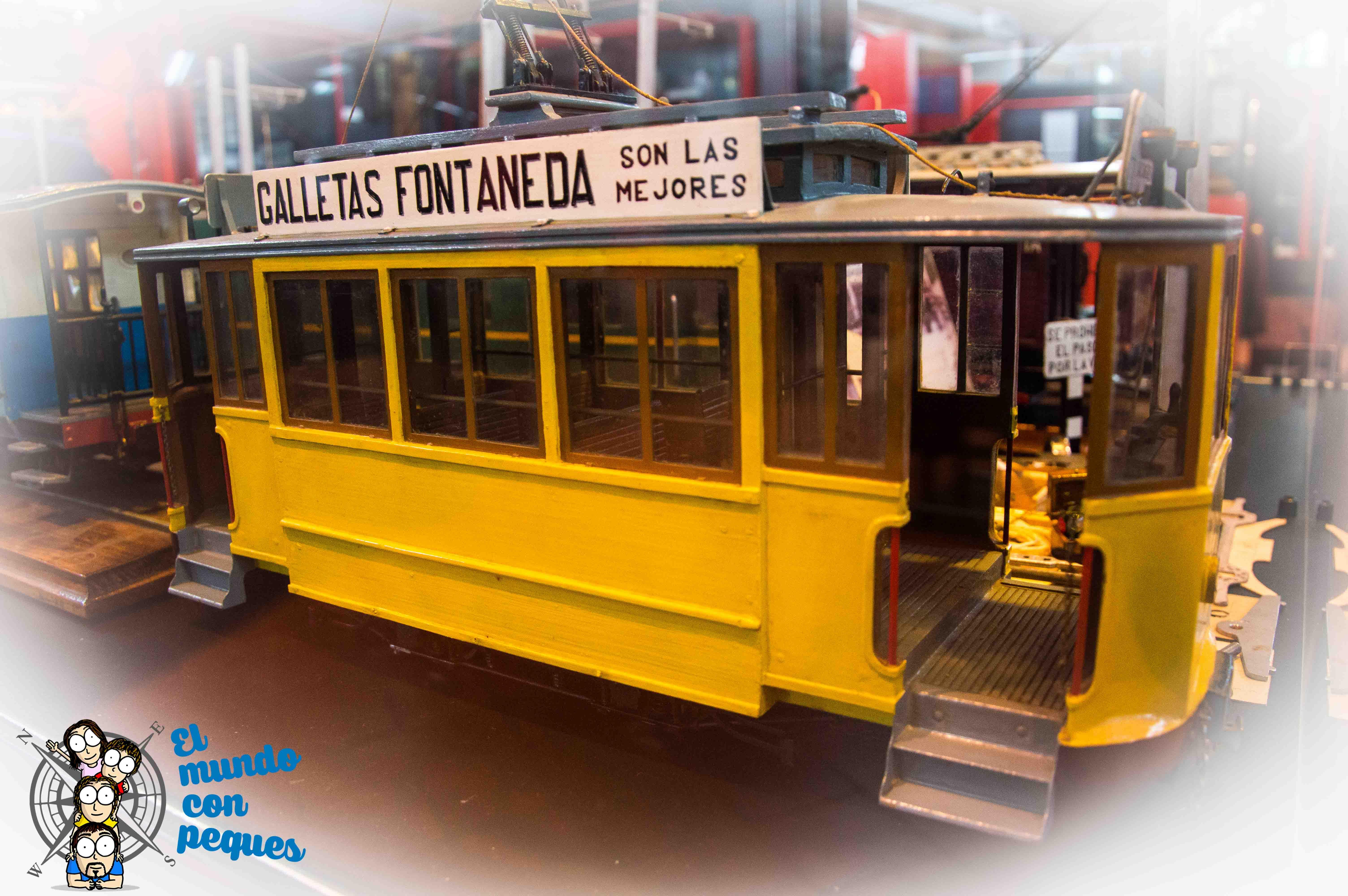 Maquetas en el museo vasco del ferrocarril