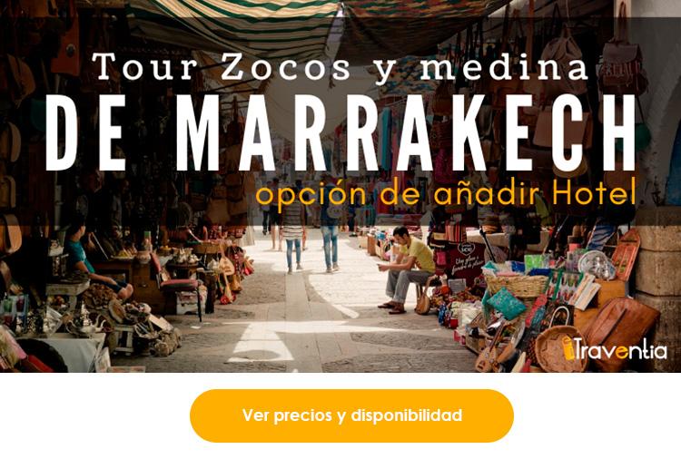 Tour Zoco y medina de Marrakech