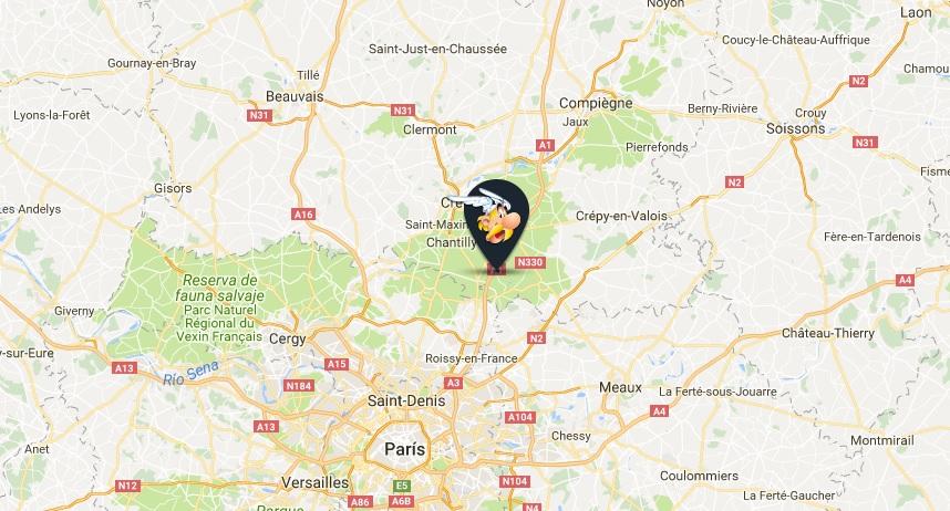 Parque Asterix, cerca de París